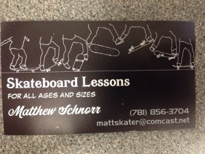 skateboarder card