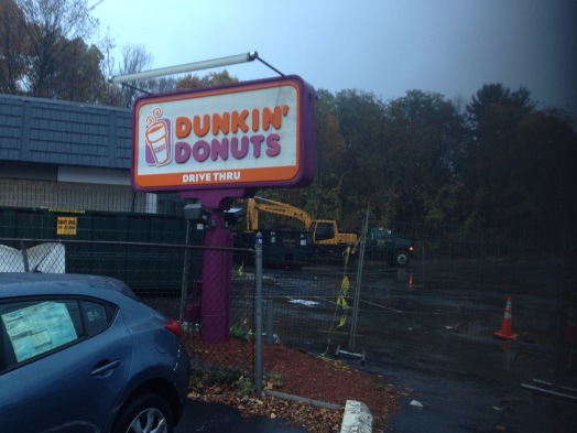 Rte. 9 West Dunkin Donuts, Wellesley MA