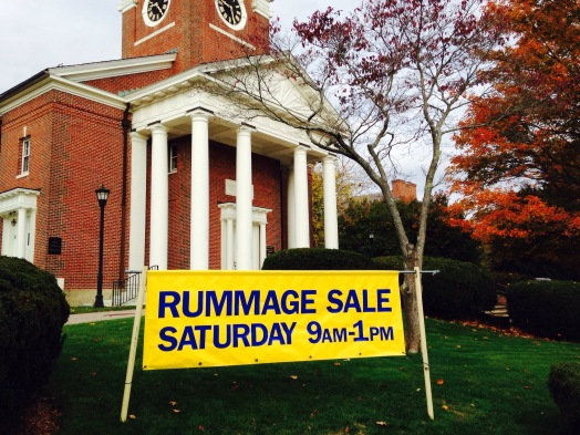 Wellesley Village Church Rummage Sale