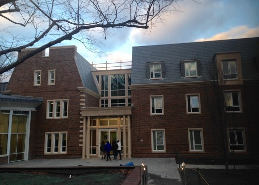 Park Manor West, 2015, Babson dorm