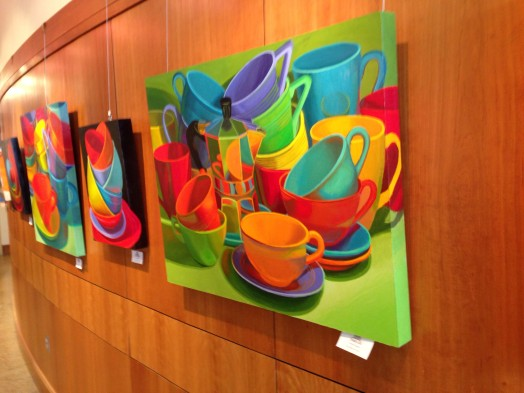 Marian Dioguardi art wellesley free library february 2015