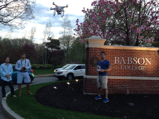 Babson drone