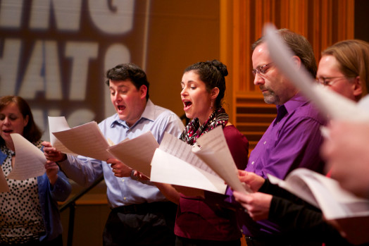 None of the Above a cappella wellesley wgbh tv sing that thing
