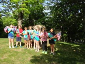 wellesley woodlawn veterans flags