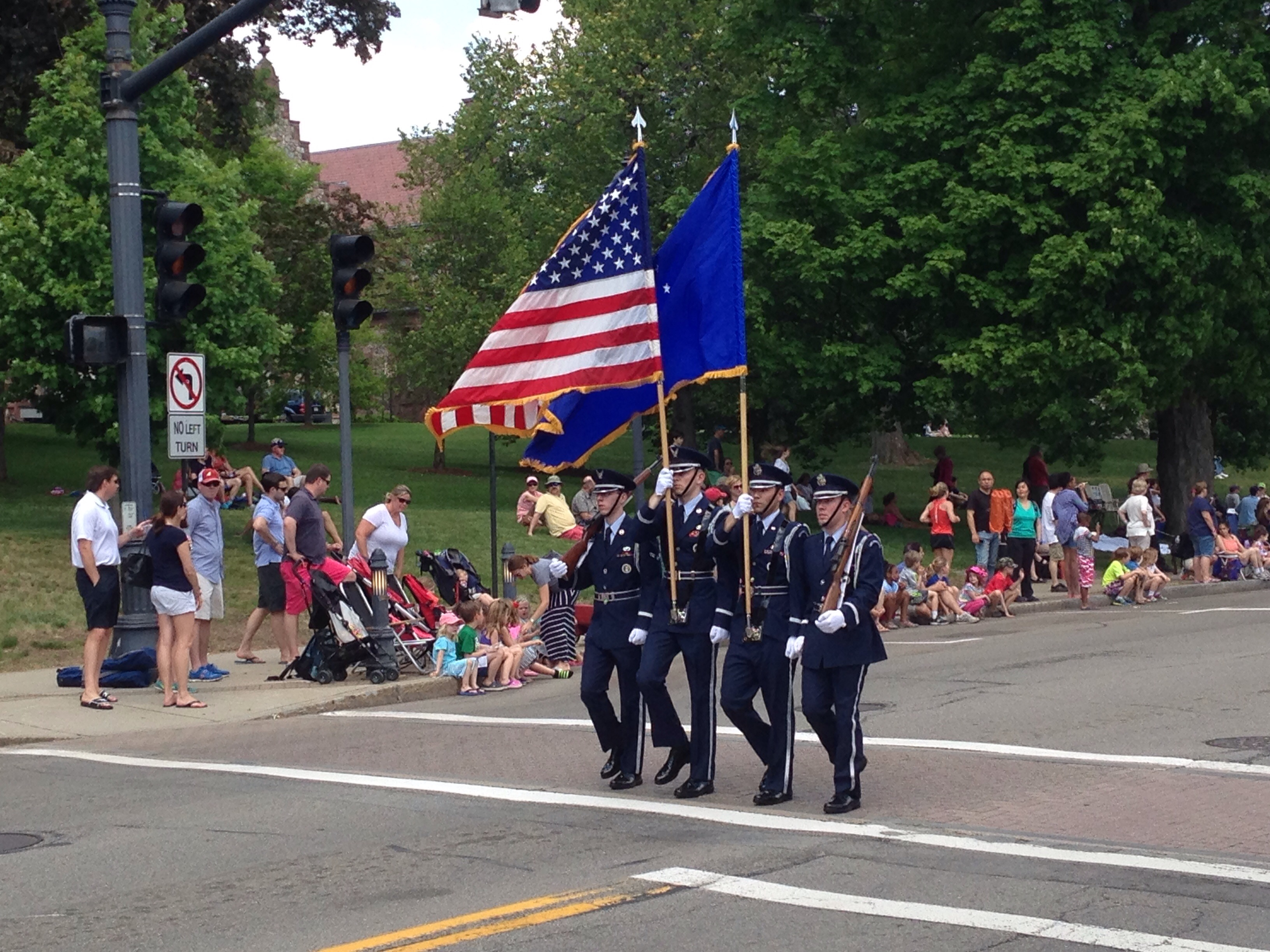 wellesley parade flags