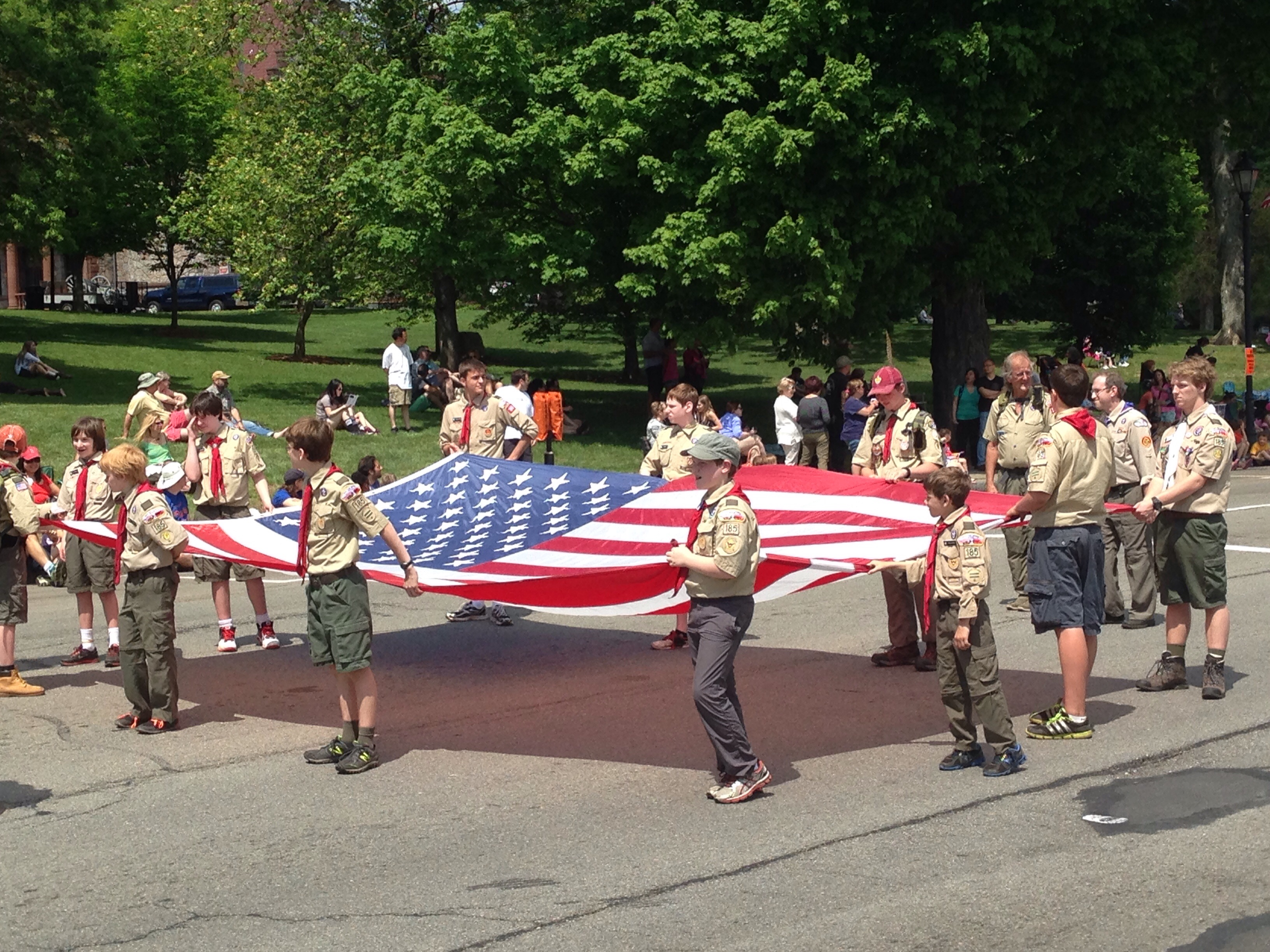 boy scouts wellesley parade
