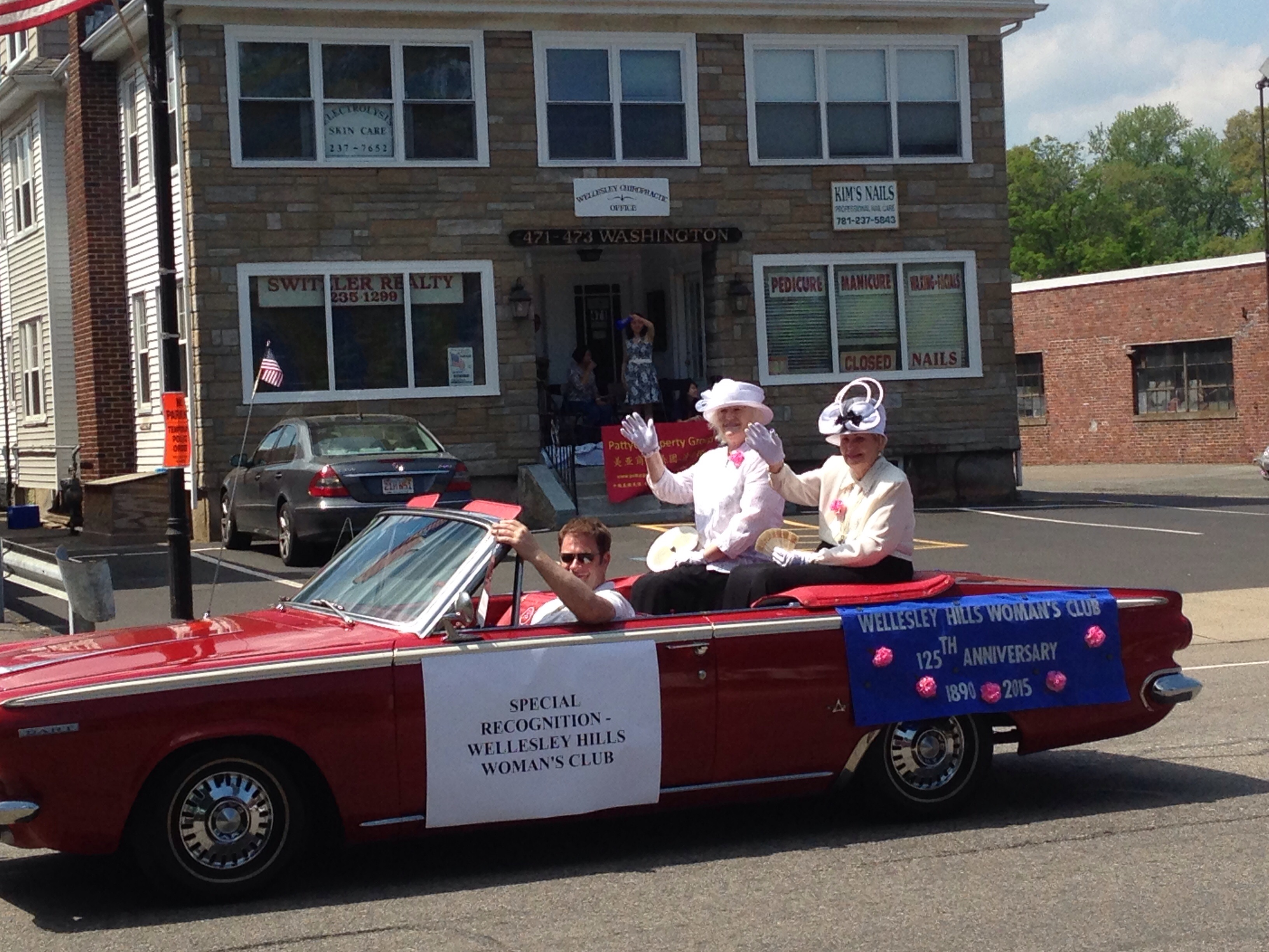wellesley hills woman's club parade