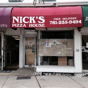 Nick's Pizza, Wellesley Hills