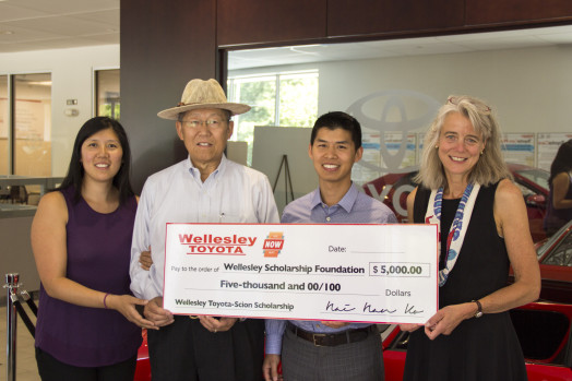wellesley toyota scholarship