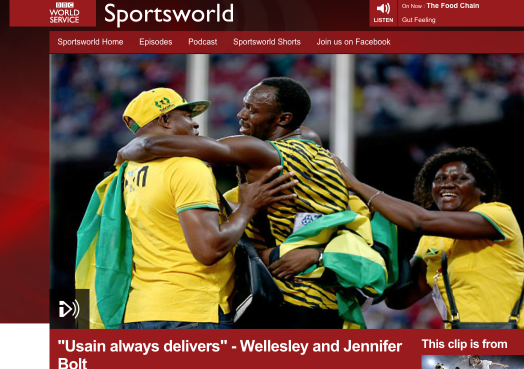 usain bolt headline wellesley