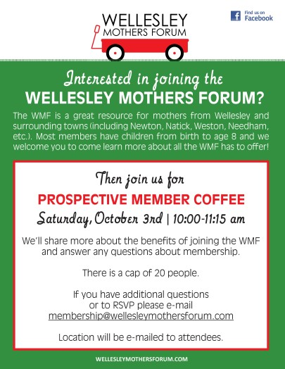 wellesley mothers forum