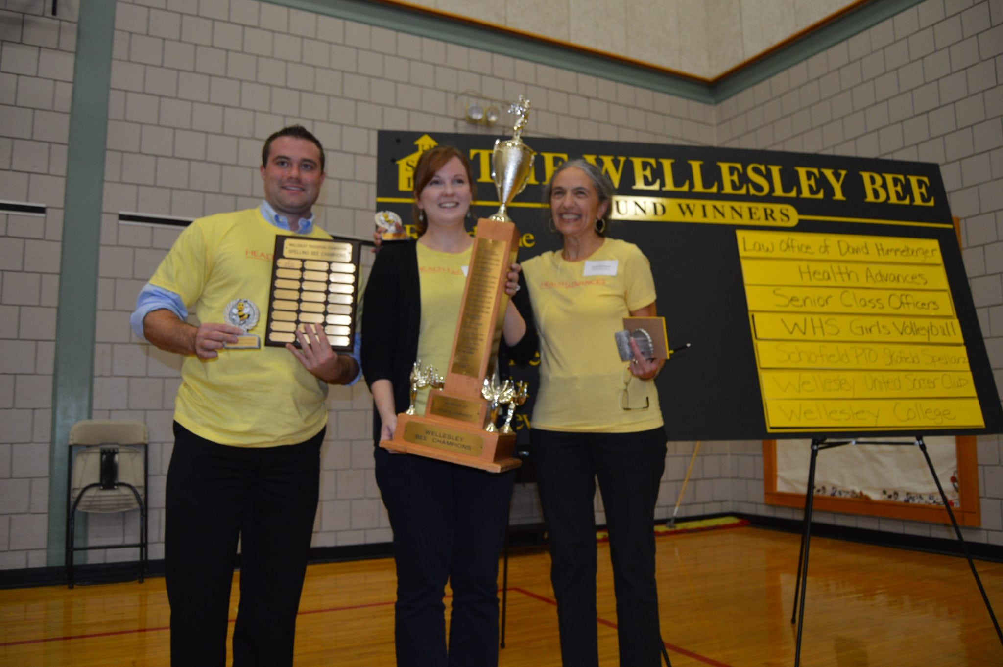 Spelling Bee, Winning team, Health Advances