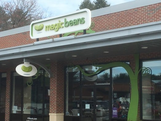 Magic Beans linden square wellesley
