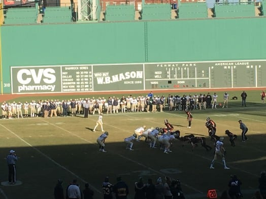 football at fenway wellesley needham
