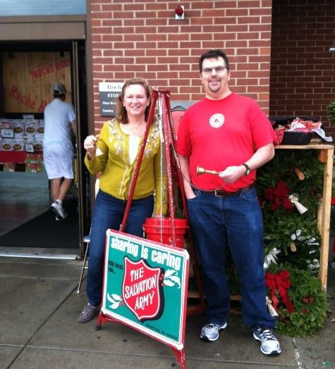 salvation army kathy and larry cervon