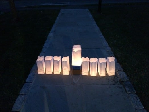 luminary night menorah