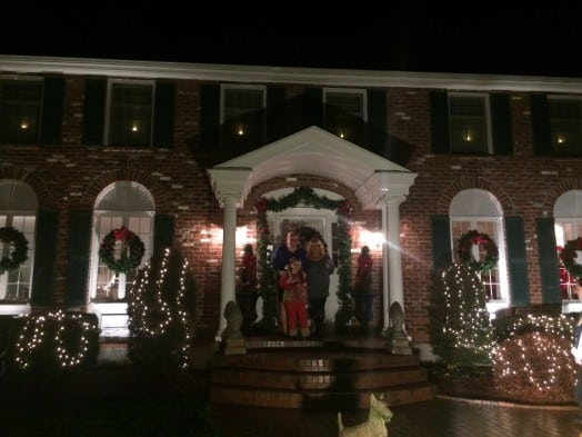 Traditional New England wellesley house decorating contest