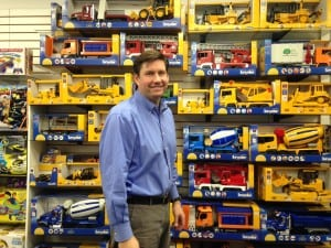 Andy Brown, owner of Wellesley Toy Shop