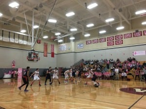 wellesley high boys basketball v walpole