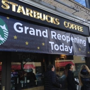 Starbucks, Wellesley Square