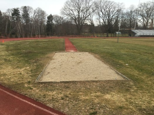 wellesley track long jump pit