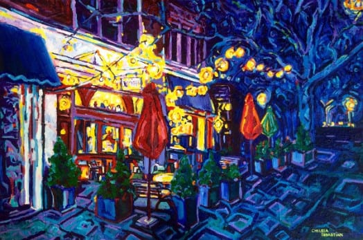 juniper restaurant wellesley painting