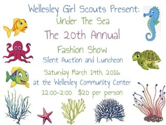 wellesley girl scout fashion show