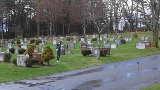 woodlawn cemetery visit by evolutions students