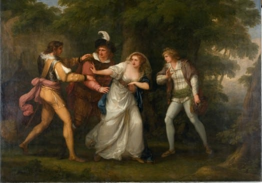 shakespeare painting