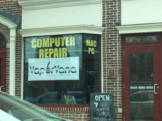 computer repair and vapor vana