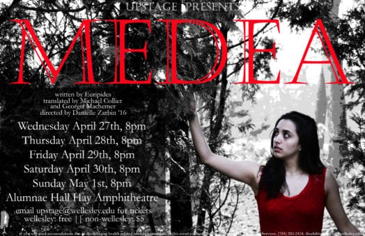 medea wellesley upstage