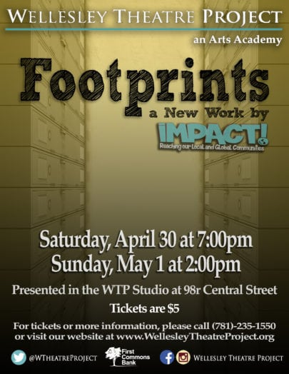 wellesley theatre project footprints