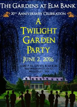 Mass Hort, Wellesley, Twilight Garden Party