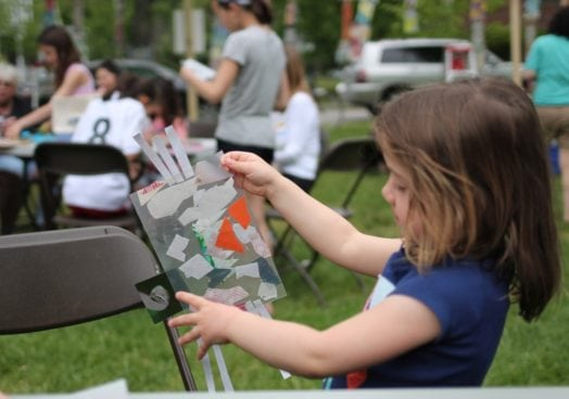 Art in the Park (Photo by Karen Griswold)