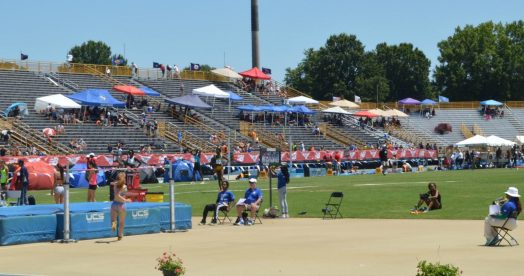 Julia Jordahl-Henry jump at NB Nationals June 2016