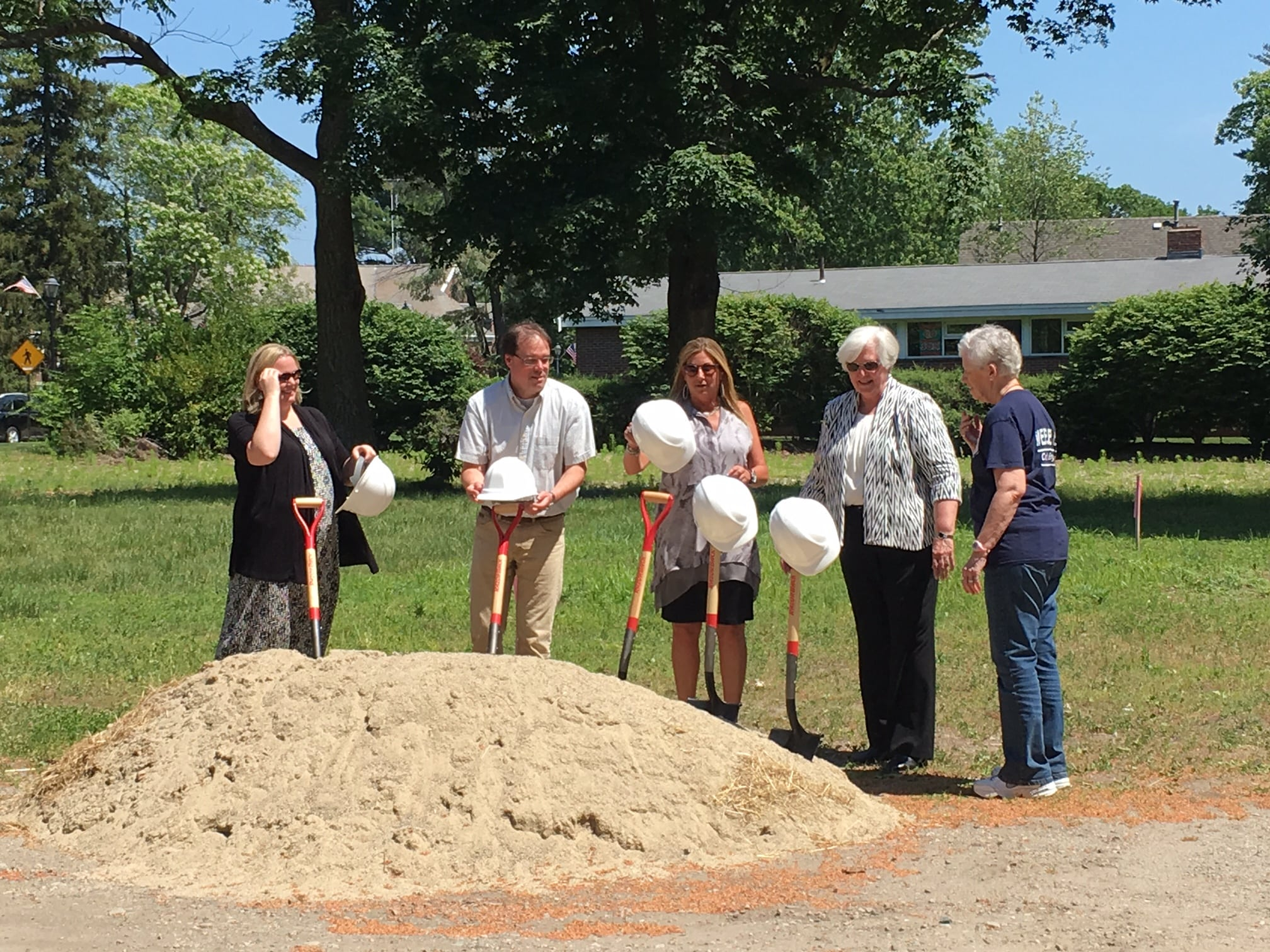 Tolles-Parsons senior center groundbreaking in Wellesley