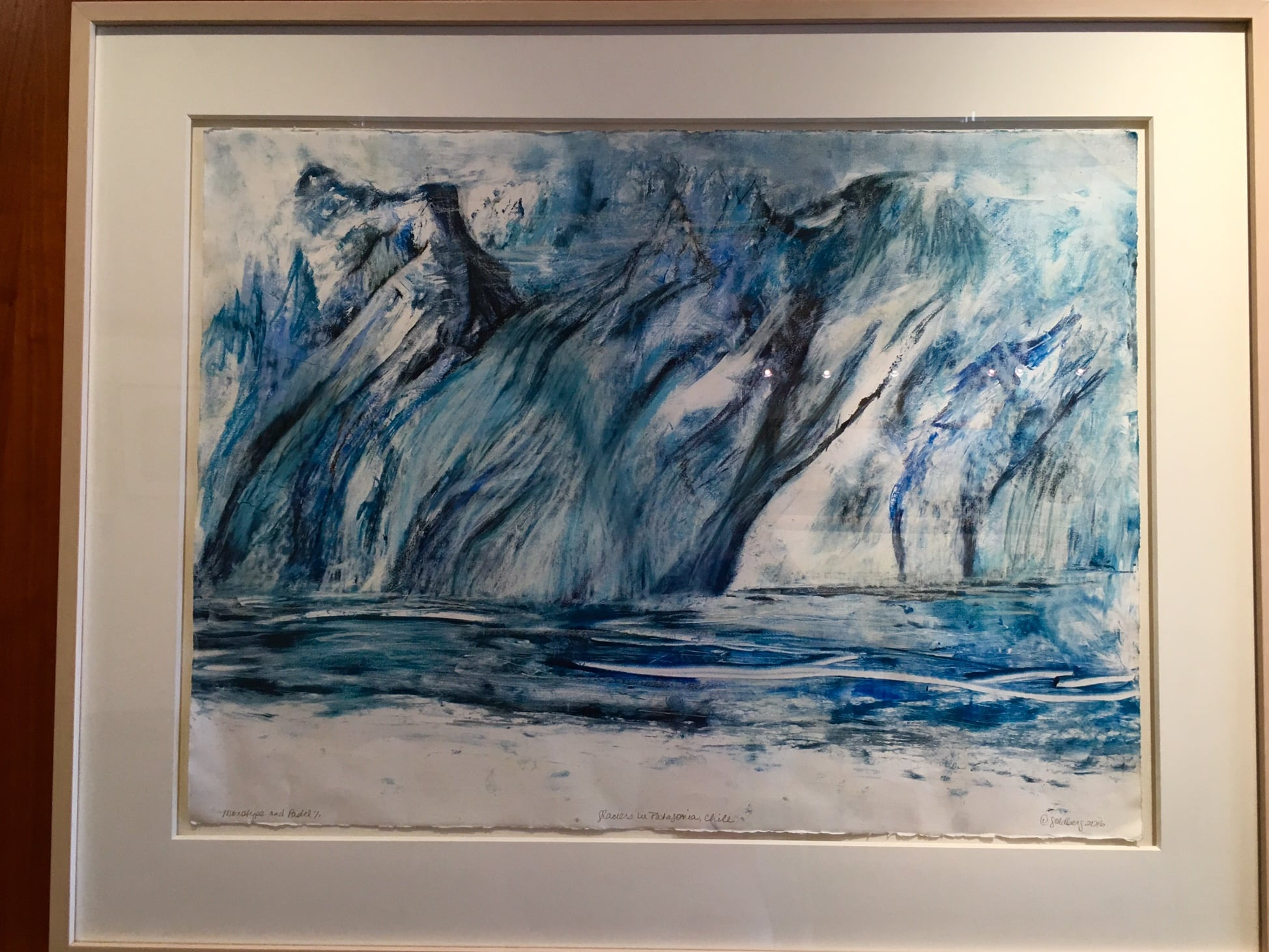 Lynda Goldberg, Glaciers in Patagonia, Chile