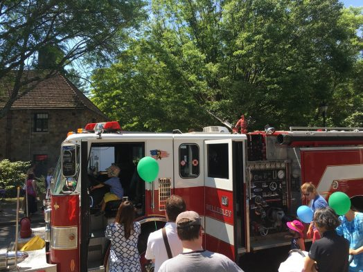July Jubilation 2016 fire truck
