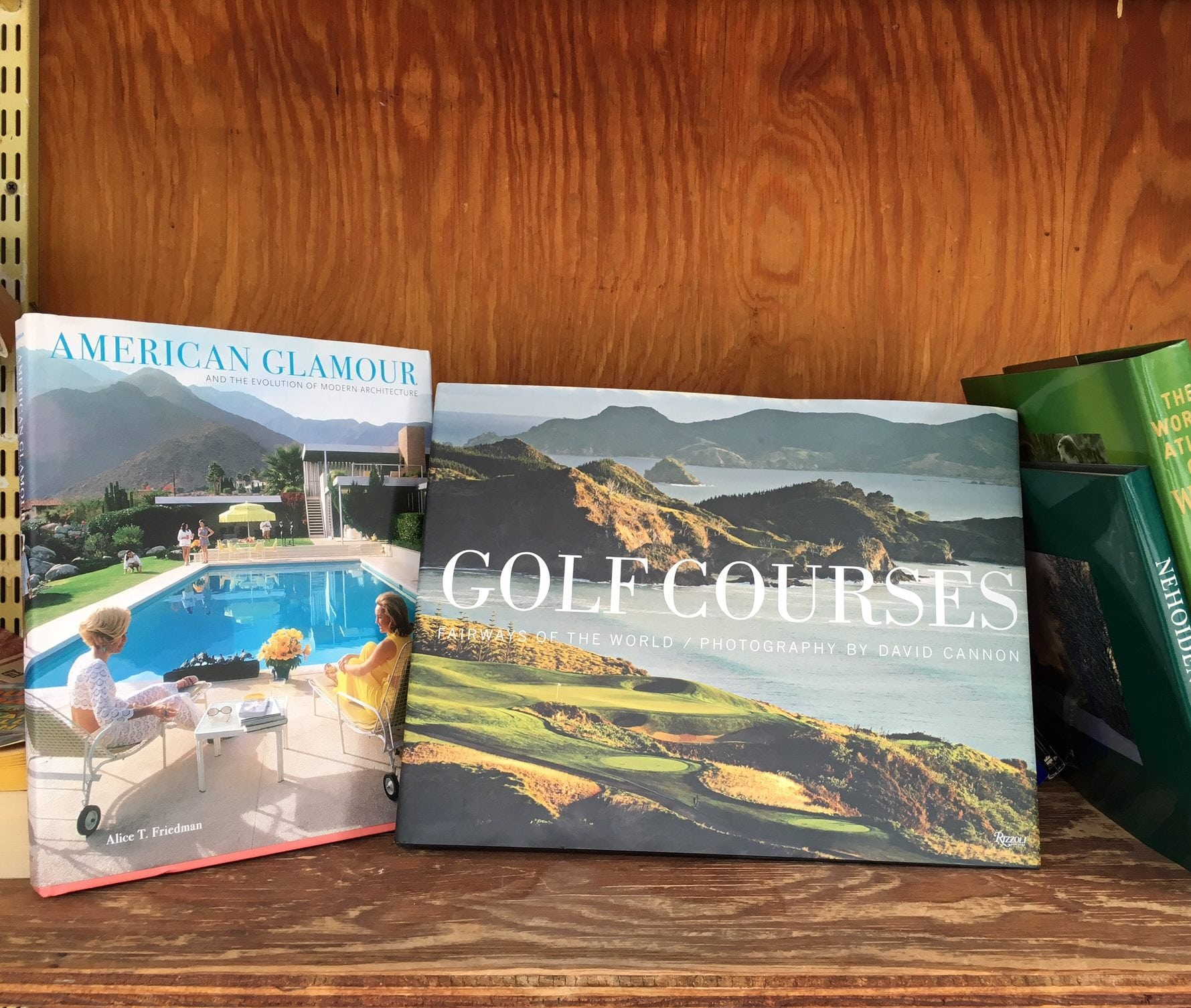 Golf and wine books, Wellesley