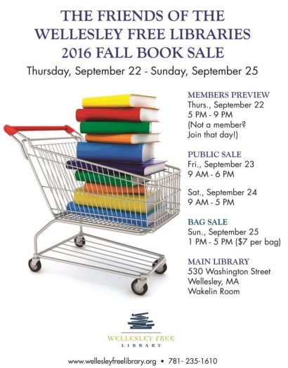 Wellesley Free Library Book Sale