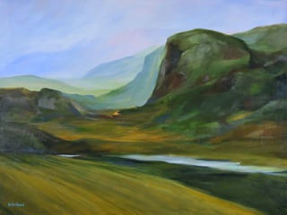"Evelyn Bernal's ""Mountain Pass"""