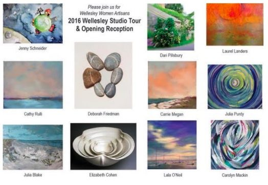 wellesley women artisans studio tour