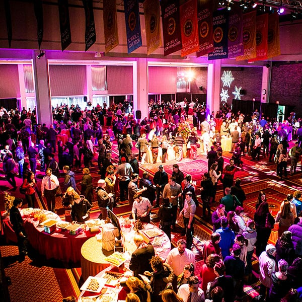 Cotillion goers, picture yourselves here. Photo credit, Boston University