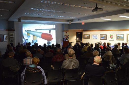 uss quincy lecture at wellesley free library