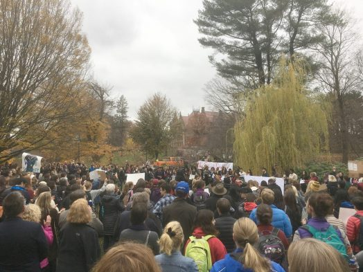 wellesley college, babson rally