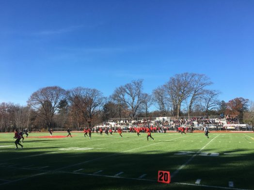 Wellesley Powder Puff game