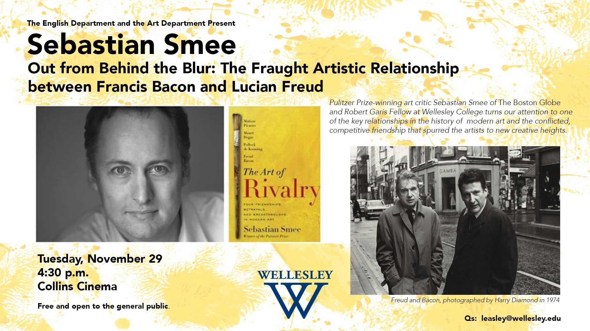 Smee, Wellesley College visit