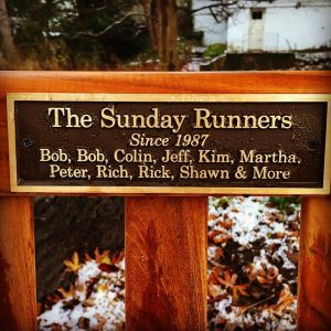 The Sunday Runners, Wellesley