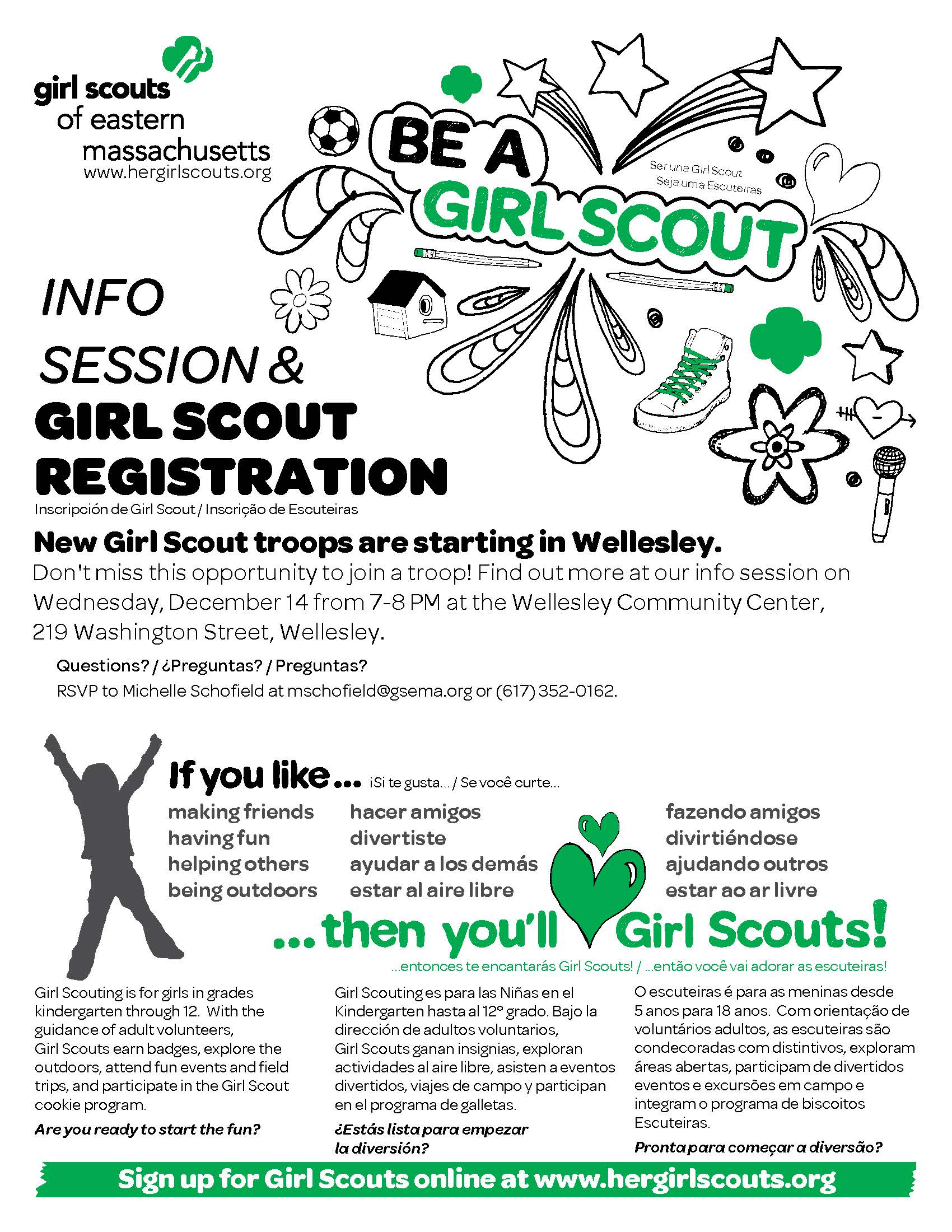 Wellesley Girl Scouts