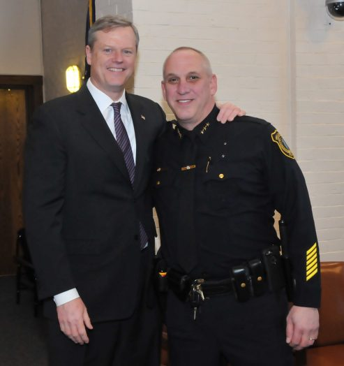 Chief Pilecki & Gov Baker